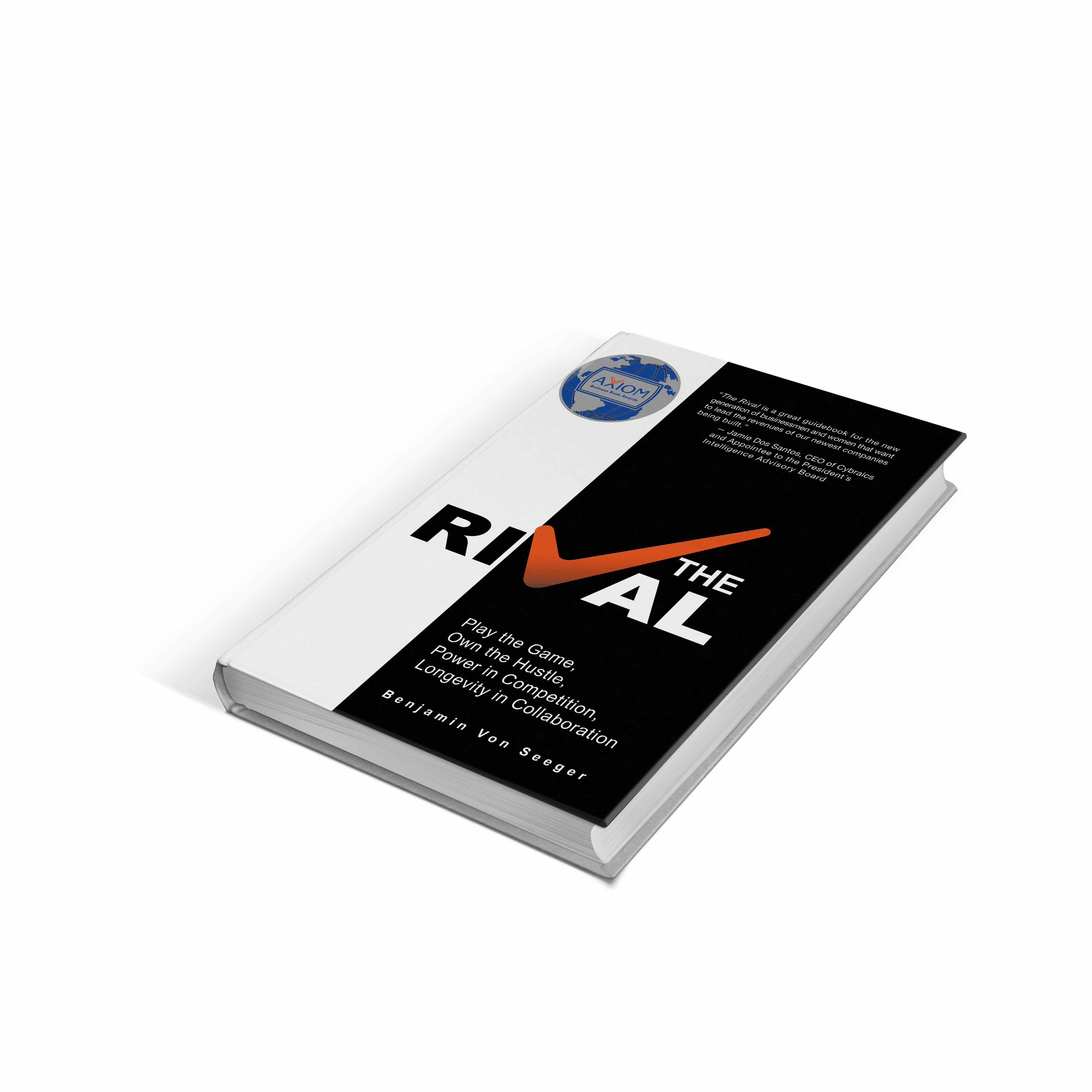Book Cover Psd Mockup v1 1 1 - Play the Game. Own the Hustle. 'The RiVal' By Benjamin Von Seeger Is a Must-Read